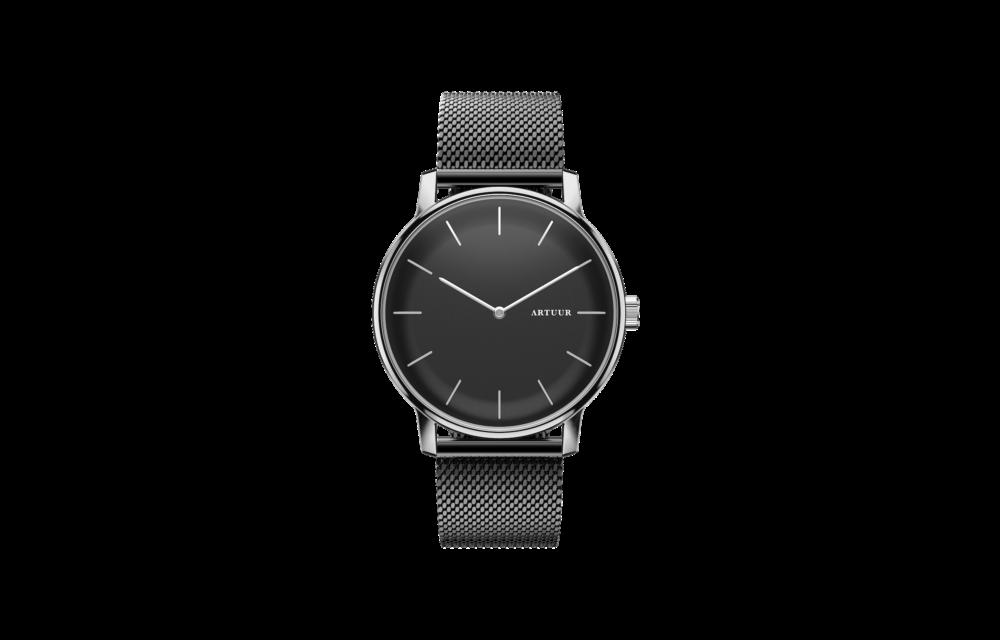 Case - Silver Black - Mesh Black